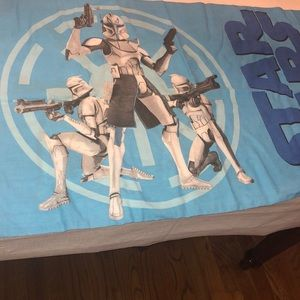 Standard star wars pillow case